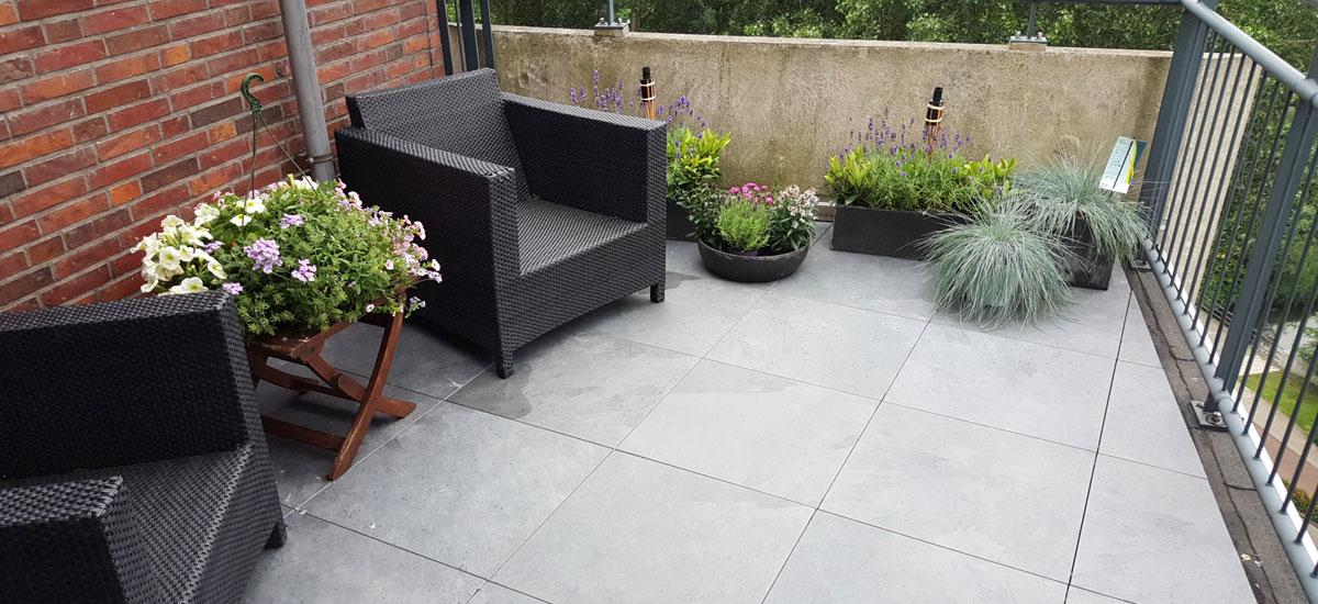Beroemd Terras en Balkon tegels   Verander Uw terras of balkon in een MG19