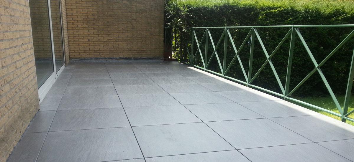 Geliefde Terras en Balkon tegels   Verander Uw terras of balkon in een LN19